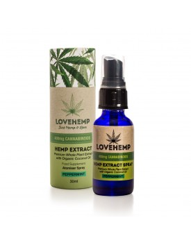 Love Hemp® 200mg CBD Oil Spray – 30ml
